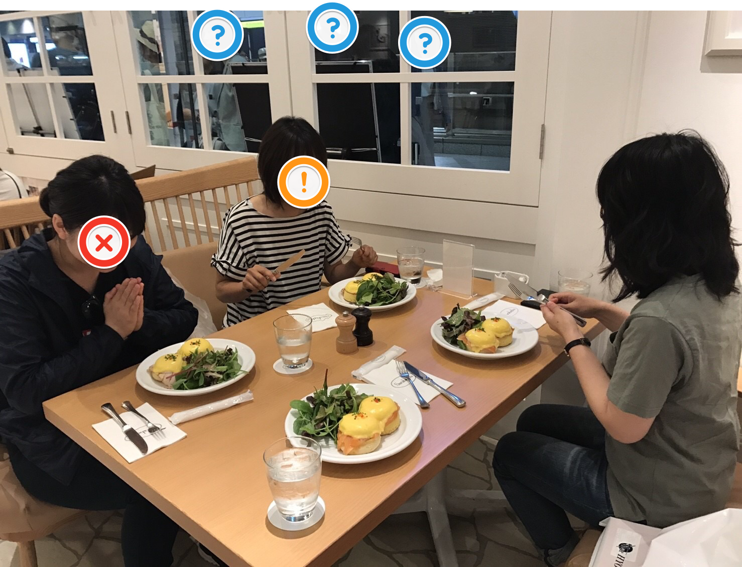 オフ会時の一コマ ~朝食編~