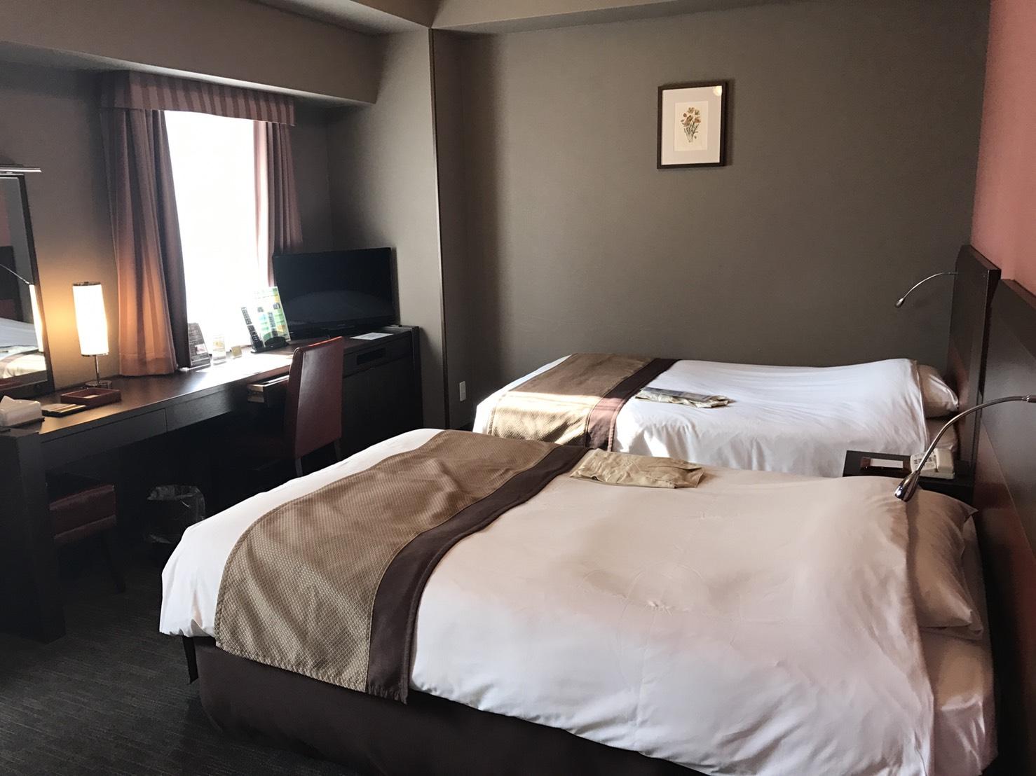 仙台オフ会まであと1時間。ホテルでノド温め中