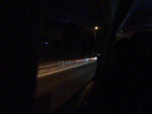 夜な夜な静岡へ移動中