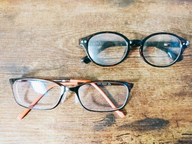 視力悪いのに伊達メガネ愛用