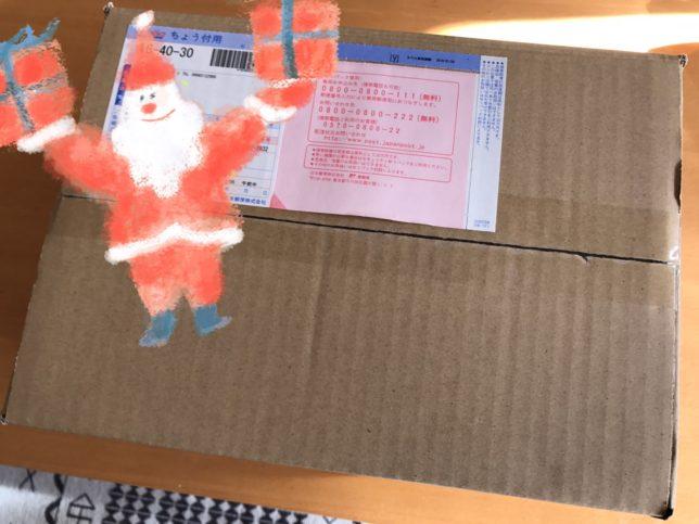 クリスマスプレゼント届きました