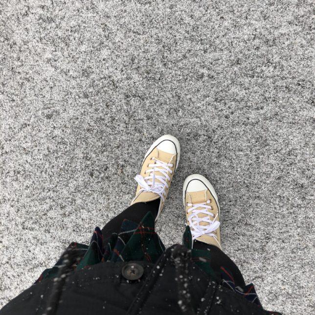 雪と思い出