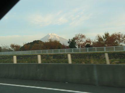 カッコいい富士山を通過