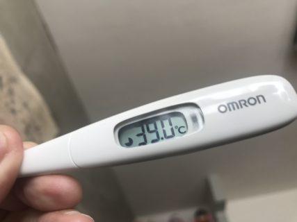 まさかのインフルエンザ??