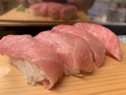 ライザップ終了した日に寿司40貫