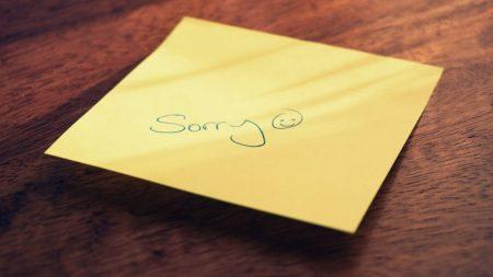 「ごめん」の一言が言えなかった