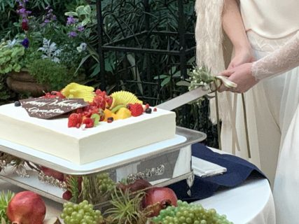 結婚式報告〜念願のケーキ入刀〜